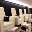 Изготовление мебели с каретной стяжкой для салона красоты от компании «СПА Чаирс»
